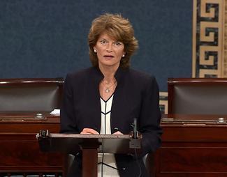 Sen. Murkowski talks about the Keystone XL pipeline on the Senate floor.