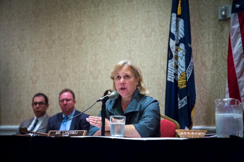 Chair Landrieu at Field Hearing in Toledo Bend