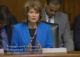 Sen. Murkowski speaks at the February 4, 2014 ENR nominations hearing.